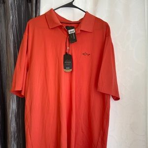NWT Greg Norman For Tasso Elba Polo Large